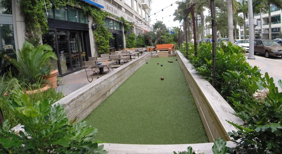 Bocce Bar Midtown Miami